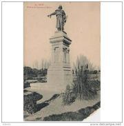 LNTP8013CPA-L5248TBES.Tarjeta Postal De LEON.IGLESIA.ARTE.Escultura.Monumento,ESTATUA DE GUZMAN EL BUENO.Leon - Esculturas