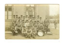 "Militaria- Groupe Soldats Du 372 RALVF Carte-photo ""Camp De Mailly"" - Ohne Zuordnung"