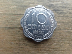 Sri-lanka  10  Cents  1978  Km 140 - Sri Lanka