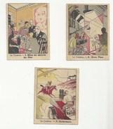 CHROMO - PUBLICITÉ PHOSPHATINE FALIÈRES - LOT DE 3 -  THÈME LE CINÉMA - N° 1 - N°5  - N° 7 - Trade Cards