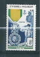 St Pierre Et Miquelon  De 1952  N°347   Neuf * Cote 16€ - St.Pierre & Miquelon