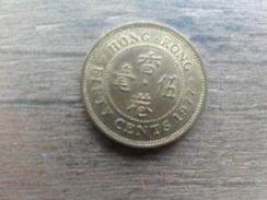 Hong-kong  50  Cents  1977  Km 41 - Hong Kong