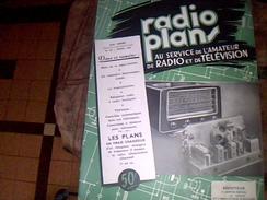 Magazine Tv Radio Tsf...  RADIO PLANS No 28 Avril 1954 - Do-it-yourself / Technical