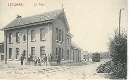 Verlaine.   La Gare   (tram) - Verlaine