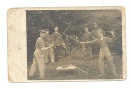 Armée Belge - Vie à La Caserne, Duel Au Sabre - Humour  - Carte Défraîchie, Voir Scan (Cha) - Personen