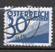 AUTRICHE Taxe 30s Bleu 1925-34 N°146 - 1918-1945 1ste Republiek