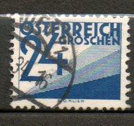 AUTRICHE Taxe 24s Bleu 1925-34 N°144a - 1918-1945 1ste Republiek