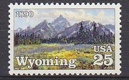 USA 1990 Wyoming  1v ** Mnh (35104F) - Nuovi