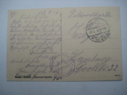 1916 , SEDAN - Kriegslazarett,  Carte Militaire Allemagne - Marcophilie (Lettres)