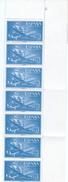 ES1175-A975TEAE.Spain Espagne SUPER-CONSTELLATION Y NAO SANTA MARIA 1955/56.(Ed.1175**)BL7 7 - Nuevos & Fijasellos