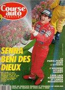 Course Auto N°19 Senna Béni Des Dieux - Patrick Faure - Ferrari Fait De L'huile - Schumacher Le Nouveau Chouchou 1991 - Auto/Moto