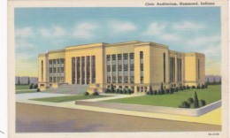 Indiana Hammond The Civic Auditorium 1944 Curteich - Hammond