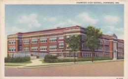 Indiana Hammond The High School Curteich - Hammond