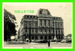 BUENOS AIRES, ARGENTINE - PALACIO DE CORREOS Y TÉLÉGRAFOS - ANIMATED - TRAVEL IN 1948 - - Argentine