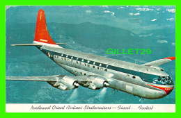 AVION - PLANE - NORTHWEST ORIENT AIRLINES STRATOCRUISERS M DOIUBLE-DECK BOEING - TRAVEL IN 1953 - - 1946-....: Moderne