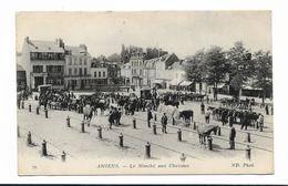 CPA 80 AMIENS Le Marché Aux Chevaux - Amiens