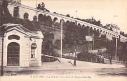 64 - PAU. La Gare Du Funiculaire Et L'Avenue Léon-Say. C. C. 5 Carrache - Pau