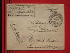Feldpost: MarineFeldpostamt Pola - Feldpostbrief 1916 - Marcophilie - EMA (Empreintes Machines)