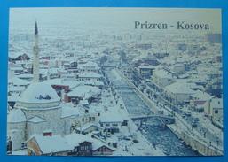 VILLE DE PRIZREN KOSOVO, NIEGE - Kosovo