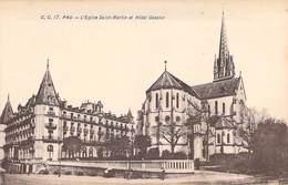 64 - PAU. L´Eglise St-Martin Et Hôtel Gassion. C. C. 17 Carrache - Pau