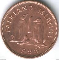 Falkland Islands 1 Penny 1998 UNC Coin - Falkland