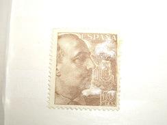 ESPAGNE   Classique Stamp  1951  FRANCO  Neuf  10 Pesetas - 1931-Heute: 2. Rep. - ... Juan Carlos I