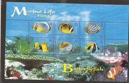 British Indian Ocean Territory Fish MNH - Territoire Britannique De L'Océan Indien