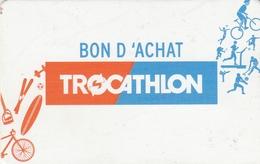 ## Carte  Cadeau   TROCATHLON   ##  (France)   Gift Card, Giftcart, Carta Regalo, Cadeaukaart - Cartes Cadeaux