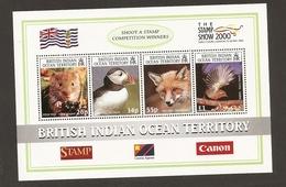 British Indian Ocean Territory Bird Enimals MNH - Territoire Britannique De L'Océan Indien