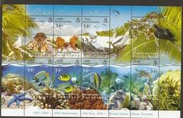 British Indian Ocean Territory Bird Enimals Fish Bird MNH - Territoire Britannique De L'Océan Indien