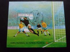 Coupe Du Monde De Football 1998 Sahara Occidental - Coupe Du Monde
