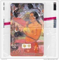 Polynesie Française / Tahiti - PF136 - Centenaire De La Mort De Gauguin - GEM 10 / 1A  Rouge - NSB