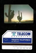 Carta Telefonica Argentina - Cactus  -  Carte Telefoniche@Scheda@Schede @Phonecards@Telecarte@Tel Efonkarte