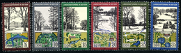 DDR - Michel 2611 / 2616 - OO Gestempelt (B) - Landschaftsparks - Oblitérés
