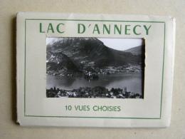 LAC D'ANNECY  - Pochette De 9 Petites Photos - Annecy