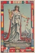 "CARTOLINA - PAX ET LABOR - ""CONFERENZA Di Genova 1922"" - Evenementen"