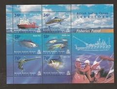 British Indian Ocean Territory Fish Ship  MNH - Territoire Britannique De L'Océan Indien