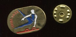 Pin´s - FRANCE URSS Athlétisme Cheval D'arçon - Alpinisme