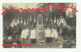 MUREAUMONT Carte Photo Inauguration Du Monument Aux Morts - Autres Communes