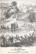 REVUE HISTORIQUE DES ARMEES SPECIAL ARME TRAIN 170 ANS D HISTOIRE - Bücher