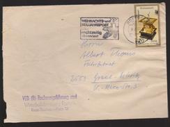 M 555) DDR 1983 Mi# 2798 EF: Horizontal-Tisch-Sonnenuhr Uhr (Bedarfspost, VEB) - Uhrmacherei