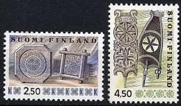 Finlandia 0745/746 ** Foto Estandar. 1976 - Finland