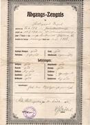 Abgangs-Zeugnis 1935 - Diplome Und Schulzeugnisse
