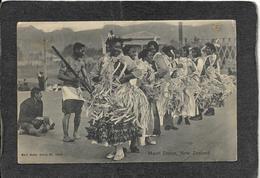 New Zealand-Classic Maori Dance 1907 - Mint Antique Postcard - Postcards