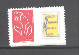 """France Personnalisé ** N°3802Ac Vignette """"Association Philatélique Gruchet Le Valasse"""" (TBE) - Personnalisés"""