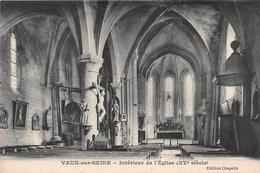 VAUX SUR SEINE - Intérieur De L'Eglise - France