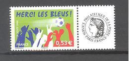 """France Personnalisé ** N°3936A Vignette """"Cérès - Football"""" (TBE) - Personnalisés"""