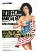 PIN UP TENUE SEXY COUVERTURE POLAR  BRIGADE MONDAINE PAR MICHEL BRICE : Escapades Présidentielles Drapeau Américain - Pin-Ups