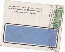1946 Paris FRANCE COVER 2 X 5f Marianne De Gandon  Stamps To GB - France