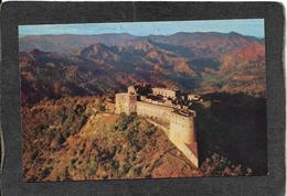 Haiti-King Christophe's Citadel,Pan-Am Adv Card 1950s - Mint Antique Postcard